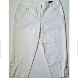 Style & Co Womens Plus Size Capri Pants Mid Rise